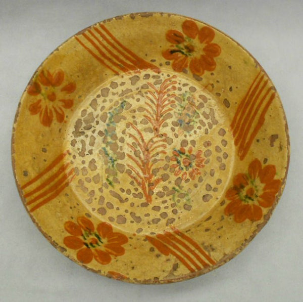 TB0079 Earthenware Plate - Top