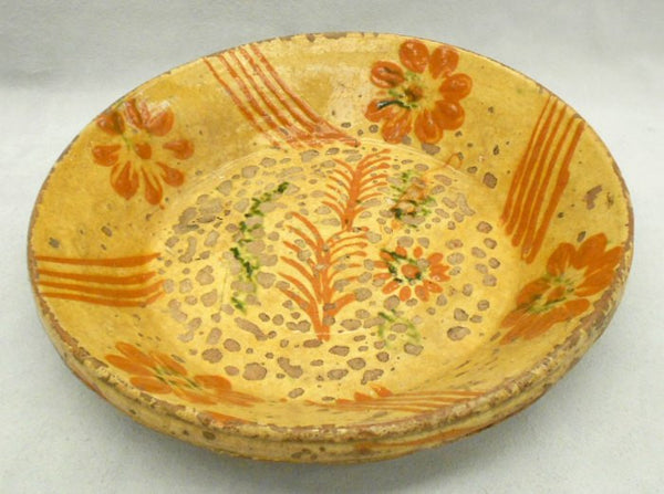 TB0079 Earthenware Plate - Top Inside