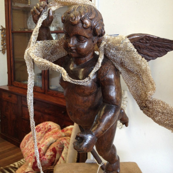 Carved Cherubs Angels