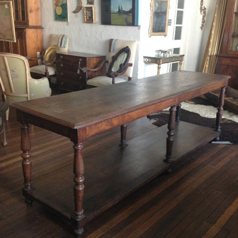 French Draper's Oak Table