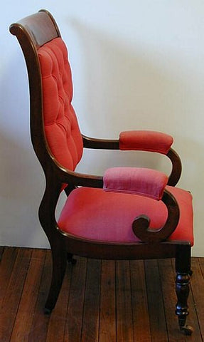U0030: William IV open arm chair