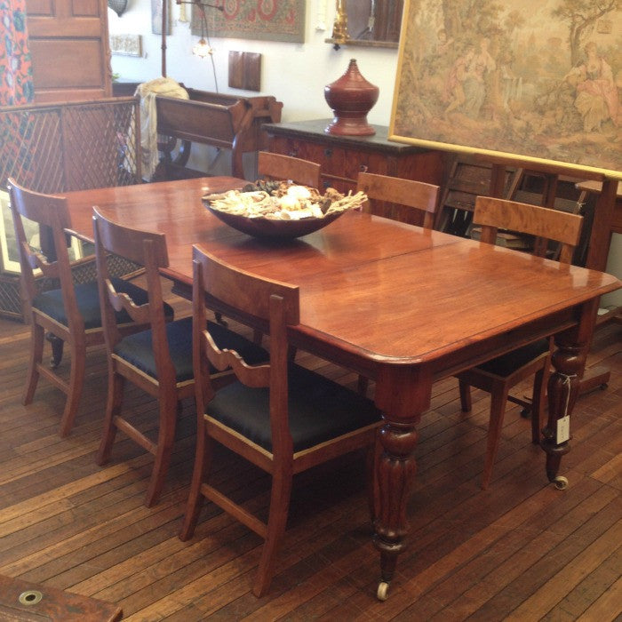 English Extension Dining Table Ben Stoner Antiques Classy English Dining Room Furniture
