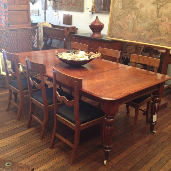 English Extension Dining Table