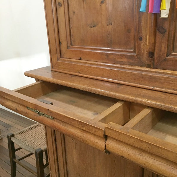 French Pine Cupboard (Buffet)