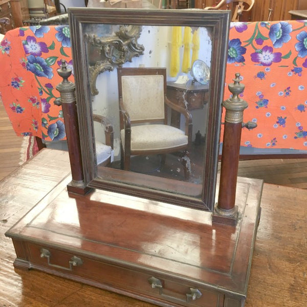 French Empire Toilette Mirror