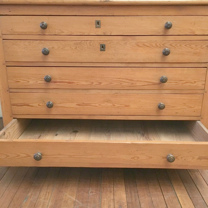 Fresh Map or Plan File Chest of Drawers | Ben Stoner Antiques LO42