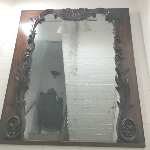 Overmantle Victorian Mirror