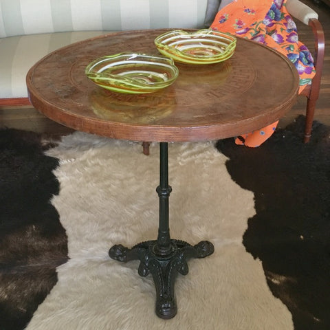 Upcycled Cafe/Wine Table