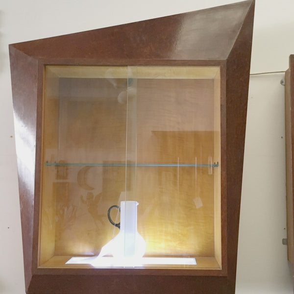 Paul E Kafka 3 Piece Wall Display Cabinet