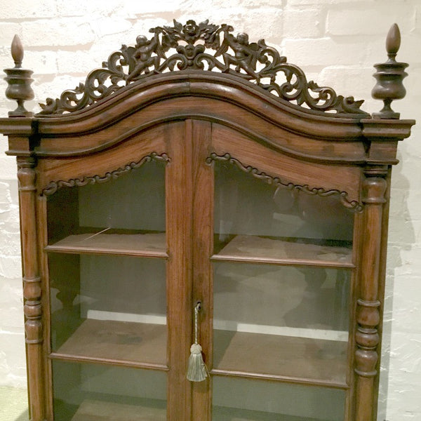 Secretaire Bookcase in Indian Rosewood