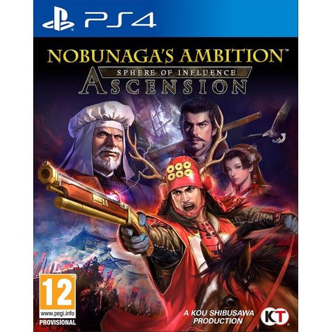Nobunaga's Ambition: Sphere of Influence - Ascension [PlayStation 4]