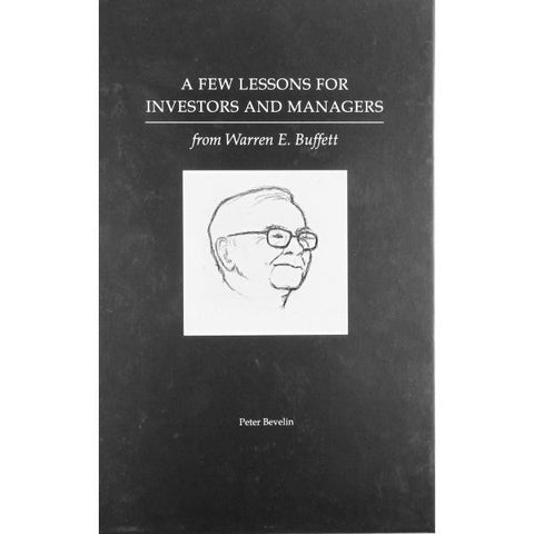 A Few Lessons for Investors and Managers From Warren Buffett [Hardcover Book]