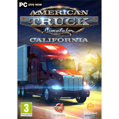 American Truck Simulator: California [PC]