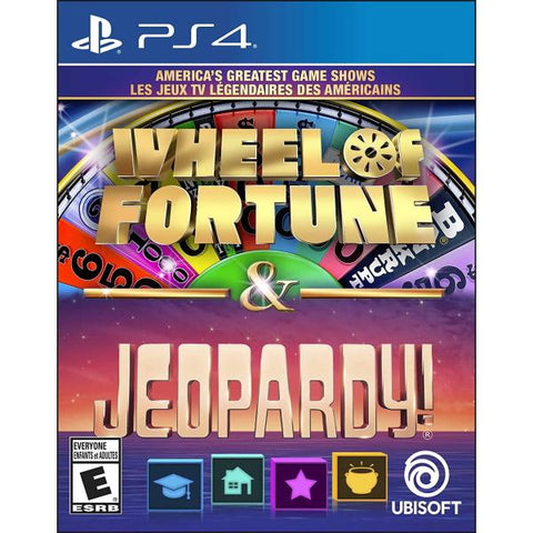 America's Greatest Game Shows: Wheel of Fortune & Jeopardy! [PlayStation 4]