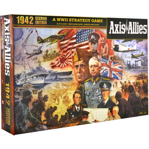 Axis & Allies 1942 - Second Edition [Board Game, 2-5 Players]