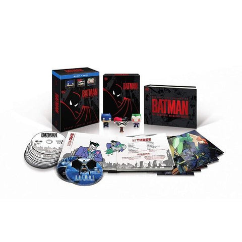 Batman: The Complete Animated Series - Deluxe Limited Edition [Blu-Ray + Digital Box Set]