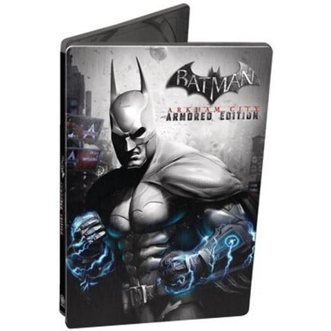 Batman: Arkham City - Armored Edition - Limited Edition SteelBook [Cross-Platform Accessory]