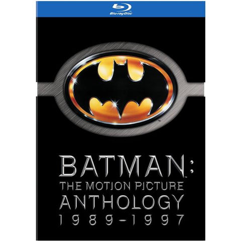 Batman: The Motion Picture Anthology 1989-1997 [Blu-Ray Box Set]