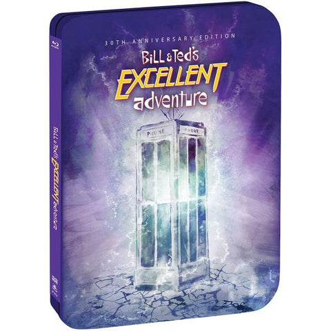 Bill & Ted's Excellent Adventure: 30th Anniversary Edition - Limited Edition SteelBook [Blu-Ray]
