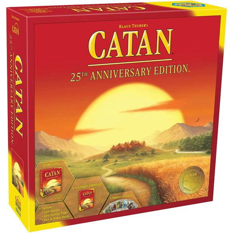 Catan: 25th Anniversary Edition [Board Game, 2-6 Players]