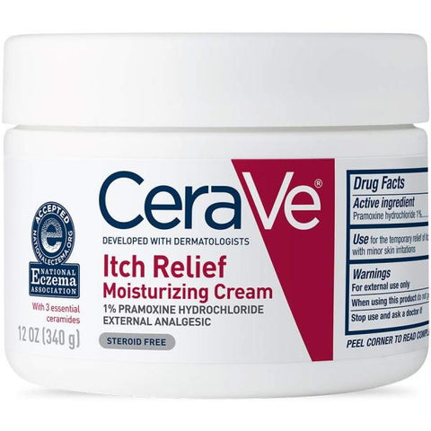 CeraVe Itch Relief Moisturizing Cream - 340g / 12 oz [Skincare]