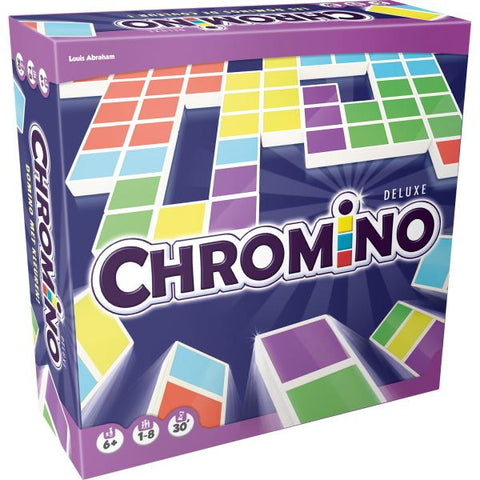 Chromino Deluxe [Board Game, 1-8 Players]