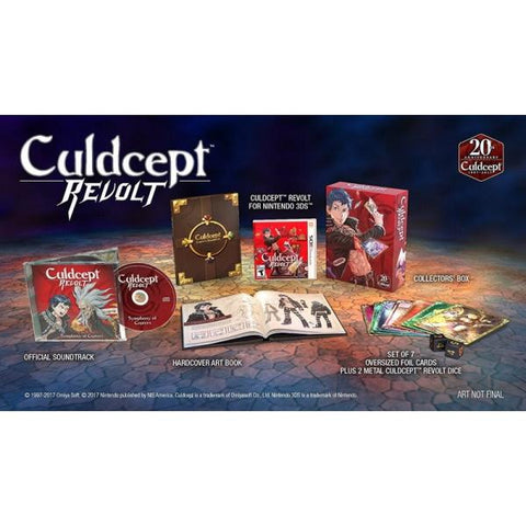 Culdcept Revolt - Limited Edition [Nintendo 3DS]