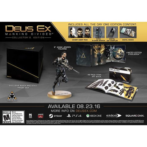 Deus Ex: Mankind Divided - Collector's Edition [Xbox One]