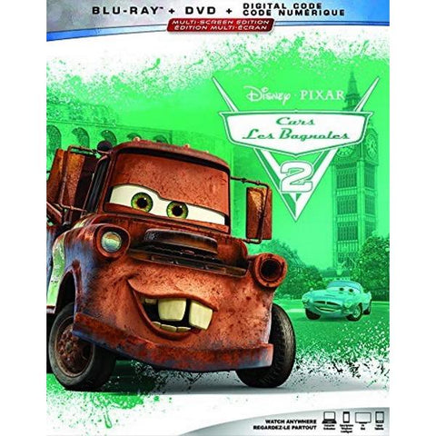Disney Pixar's Cars 2 [Blu-ray + DVD + Digital]