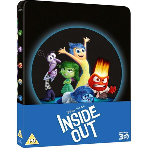 Disney Pixar's Inside Out - Limited Edition SteelBook [3D + 2D Blu-ray]