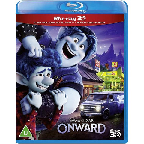 Disney Pixar's Onward 3D [3D + 2D Blu-ray]