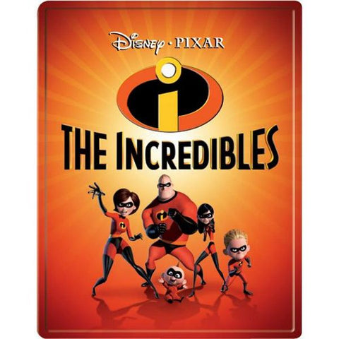 Disney Pixar's The Incredibles - Limited Edition SteelBook [Blu-ray + DVD + Digital]
