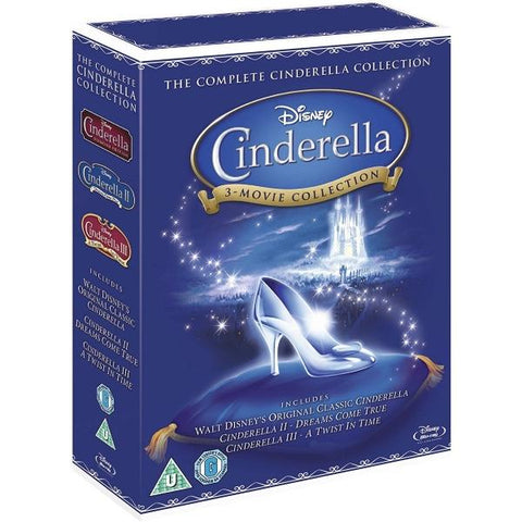 Disney's Cinderella: The Complete Collection [Blu-Ray Box Set]