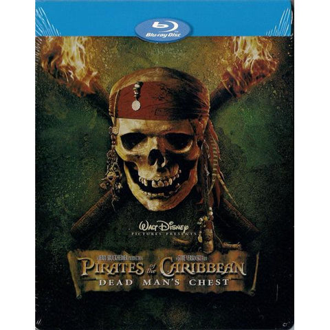 Disney's Pirates of the Caribbean: Dead Man's Chest - Limited Edition SteelBook [Blu-ray]