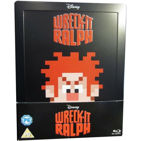 Disney's Wreck-It Ralph - Limited Edition SteelBook [Blu-Ray]