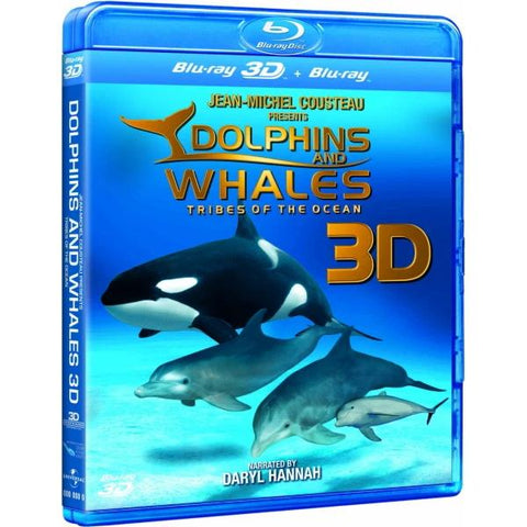 Dolphins and Whales 3D: Tribes of the Ocean [3D + 2D Blu-ray]