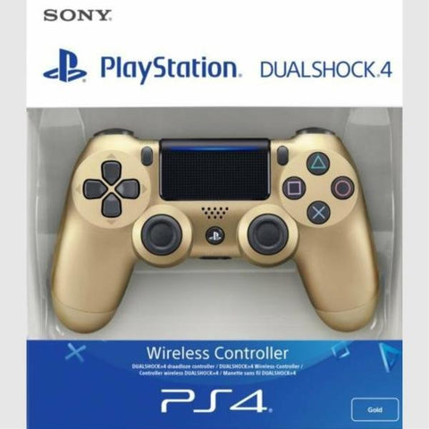DualShock 4 Wireless Controller - Gold [PlayStation 4 Accessory]