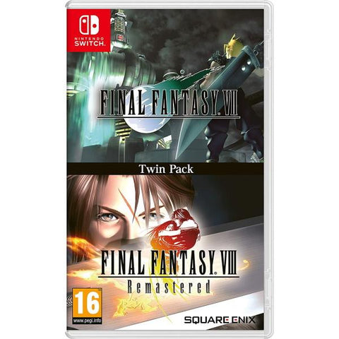 Final Fantasy VII / Final Fantasy VIII Remastered Twin Pack [Nintendo Switch]
