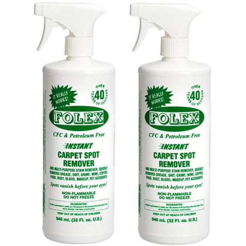 Folex Instant Carpet Spot Remover - 2 Pack - 946mL / 32 fl oz [House & Home]
