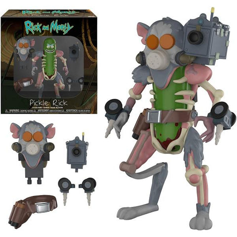 Funko Action Figures - Rick and Morty - Pickle Rick [Toys, Ages 17+, #29783]