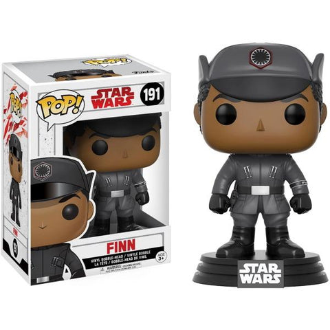Funko POP! Star Wars: The Last Jedi - Finn Vinyl Bobble-head [Toys, Ages 3+, #191]