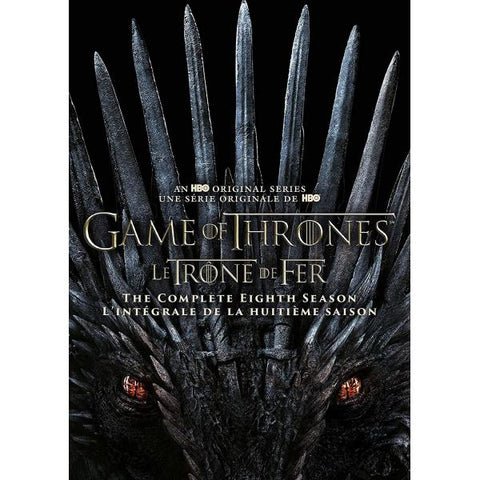 Game of Thrones: The Complete Eighth Season [DVD Box Set]