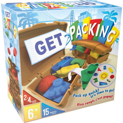 Get Packing [Board Game, 2-4 Players]