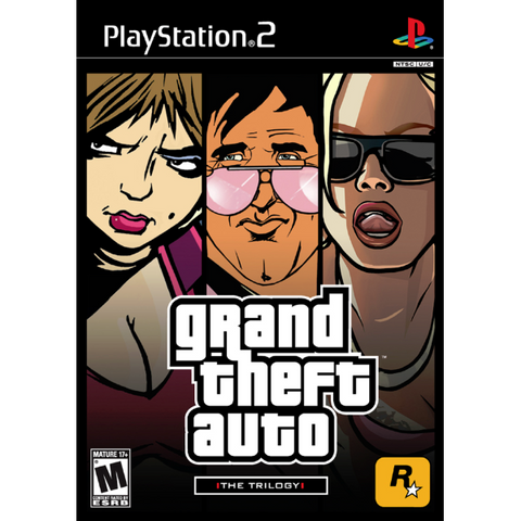 Grand Theft Auto: The Trilogy - III, Vice City, San Andreas [PlayStation 2]