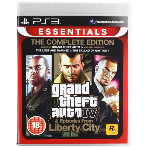 Grand Theft Auto IV & Episodes From Liberty City: The Complete Edition [PlayStation 3]