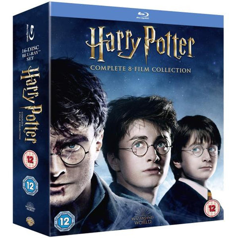 Harry Potter: Complete 8-Film Collection [Blu-Ray Box Set]