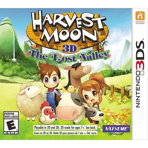 Harvest Moon 3D: The Lost Valley [Nintendo 3DS]