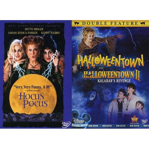 Hocus Pocus / Halloweentown / Halloweentown II [DVD Box Set]