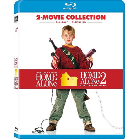 Home Alone 2-Movie Collection [Blu-Ray + Digital Box Set]