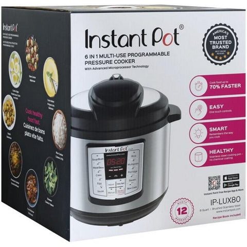 Instant Pot Lux 6-In-1 Pressure Cooker - 8-qt - IPLUX80 [House & Home]